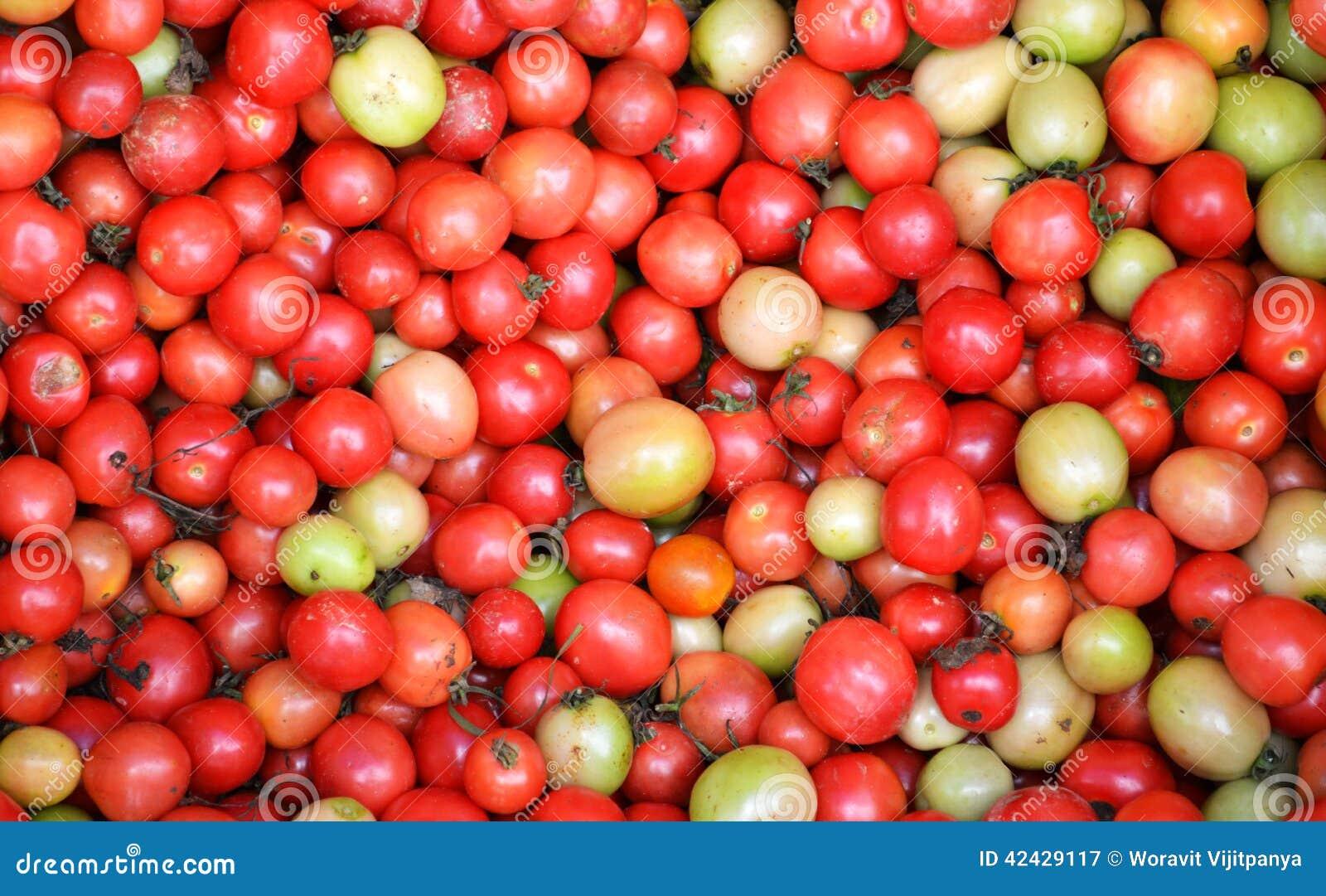 Pila de tomates