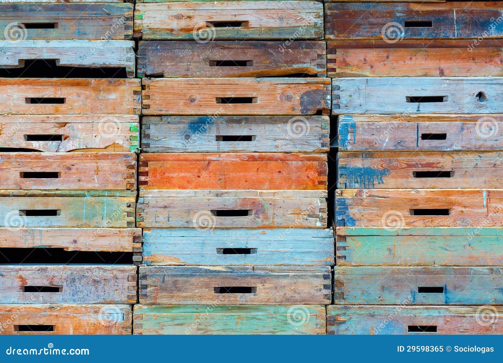 Pila di cassetti