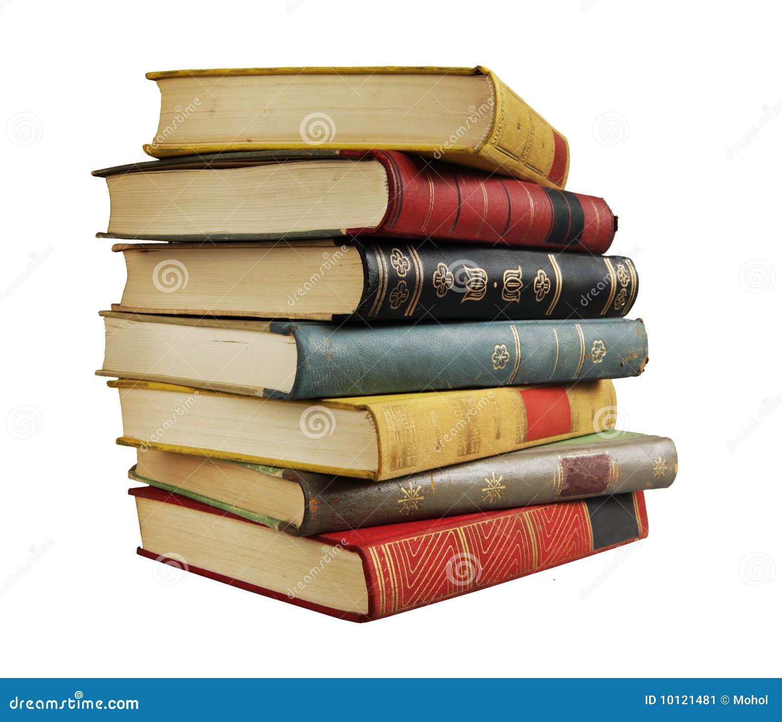 Pila di libri dell annata