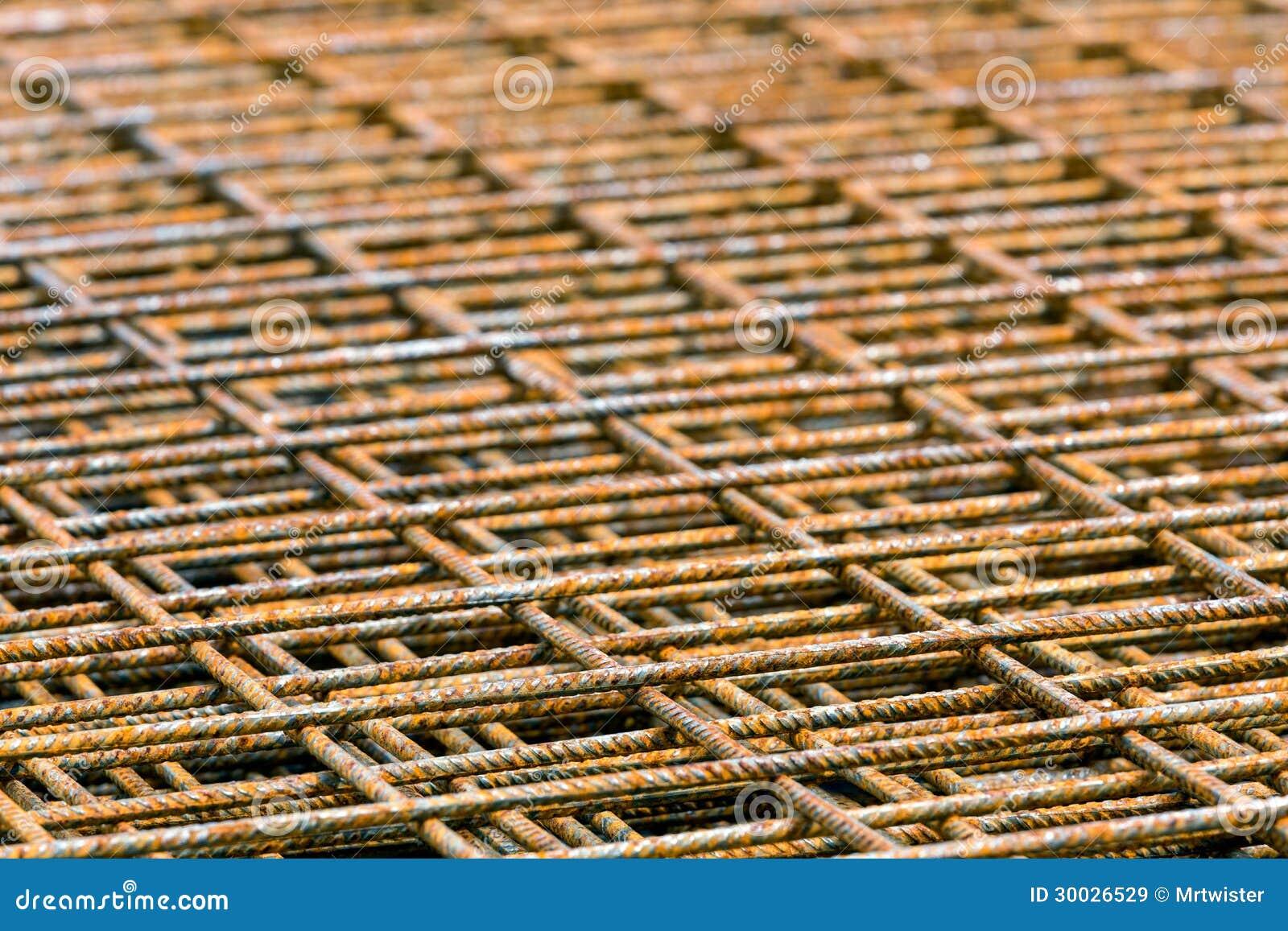 Griglie impilate del tondo per cemento armato immagine for Disegni della barra del garage