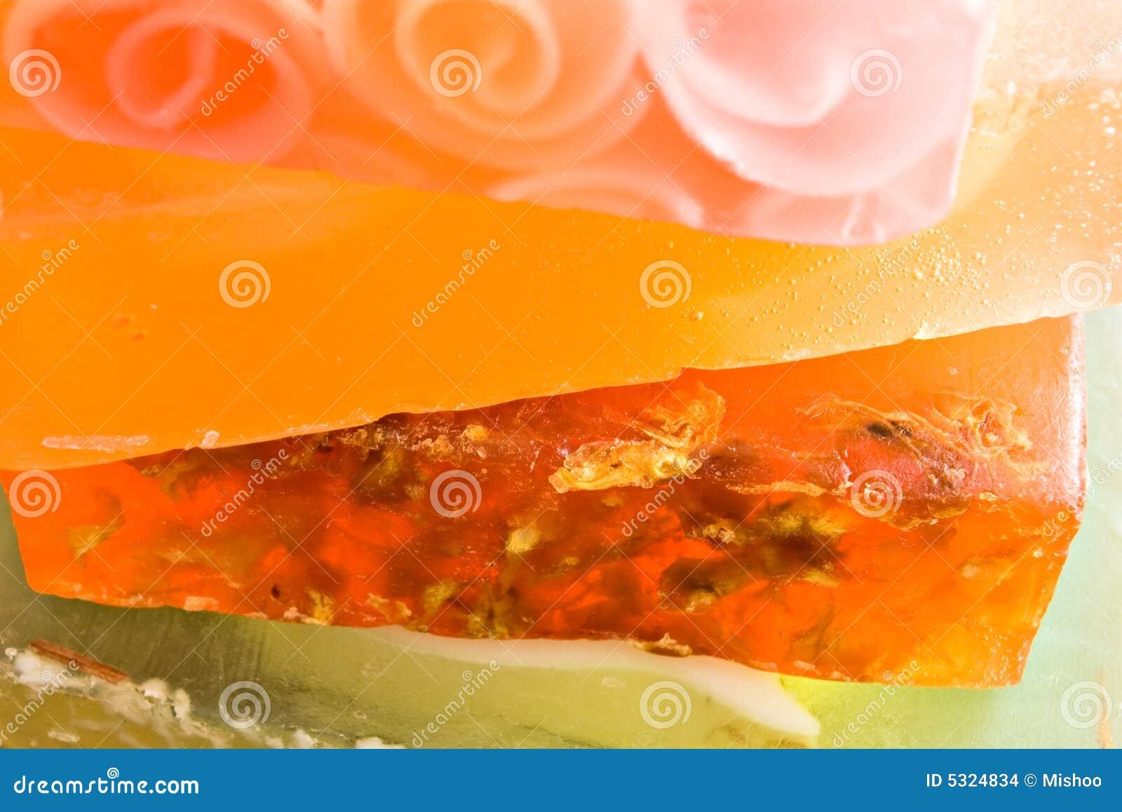 Download Pila di saponi fotografia stock. Immagine di sapone, verde - 5324834