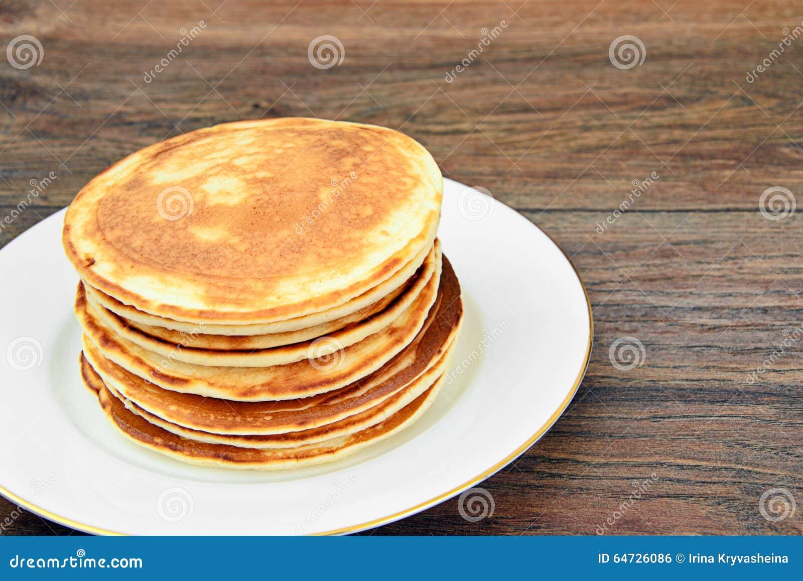 Pila saporita dei pancake