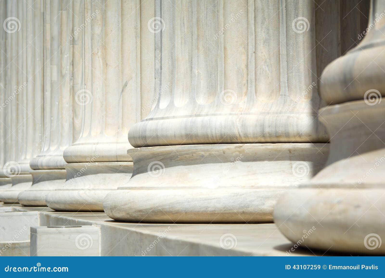 Pilares antiguos