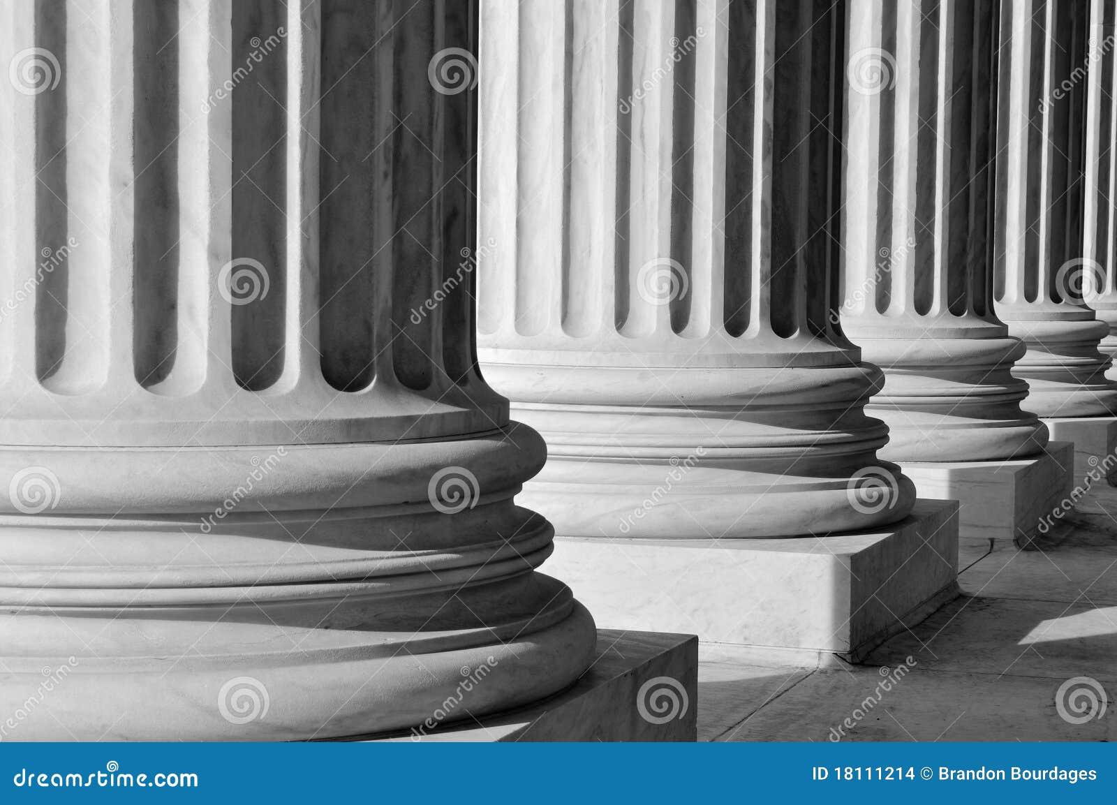 Pilares de la ley y de la orden