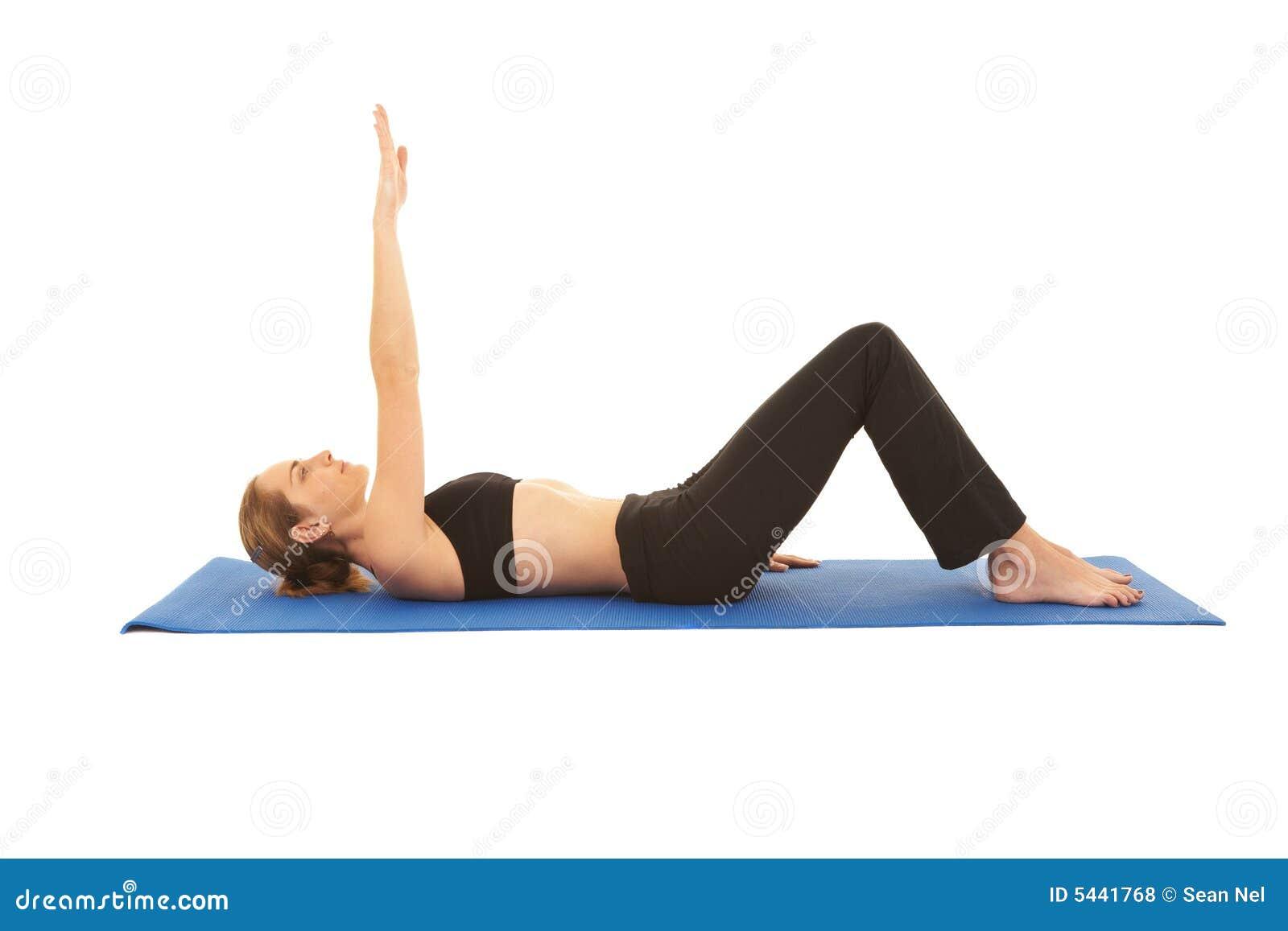 Pilates Exercise Series Royalty Free Stock Photos Image