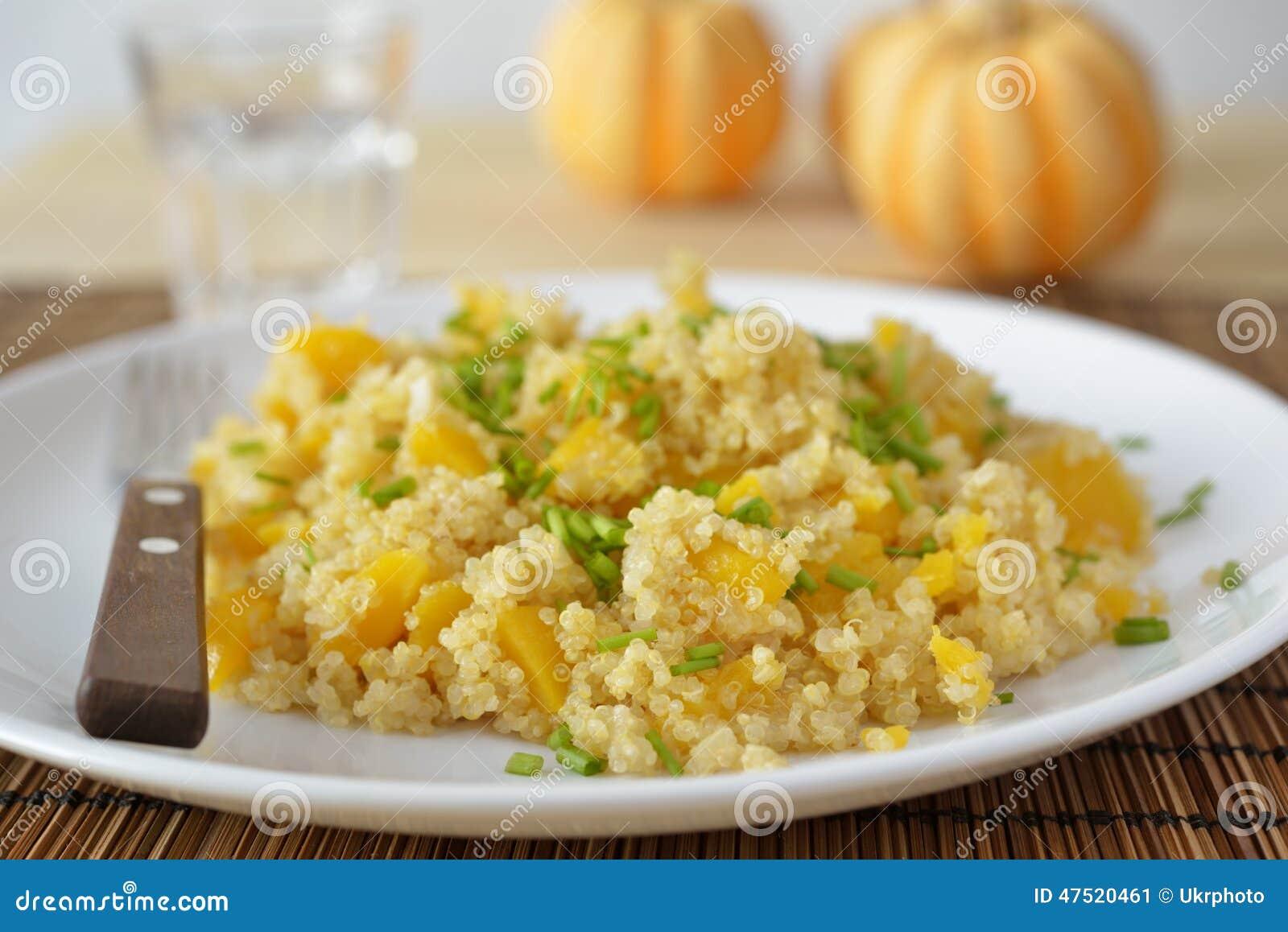 Pilau do quinoa do Butternut