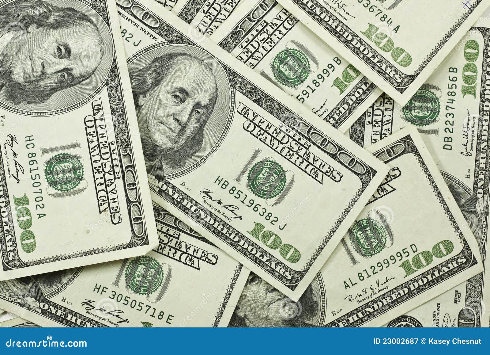 Pile Of 100 Dollar Bills Stock Image Image Of Finance