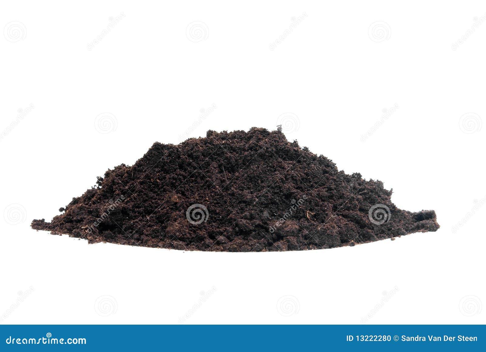 Pile of black garden soil stock photo image of dirt for Black garden soil