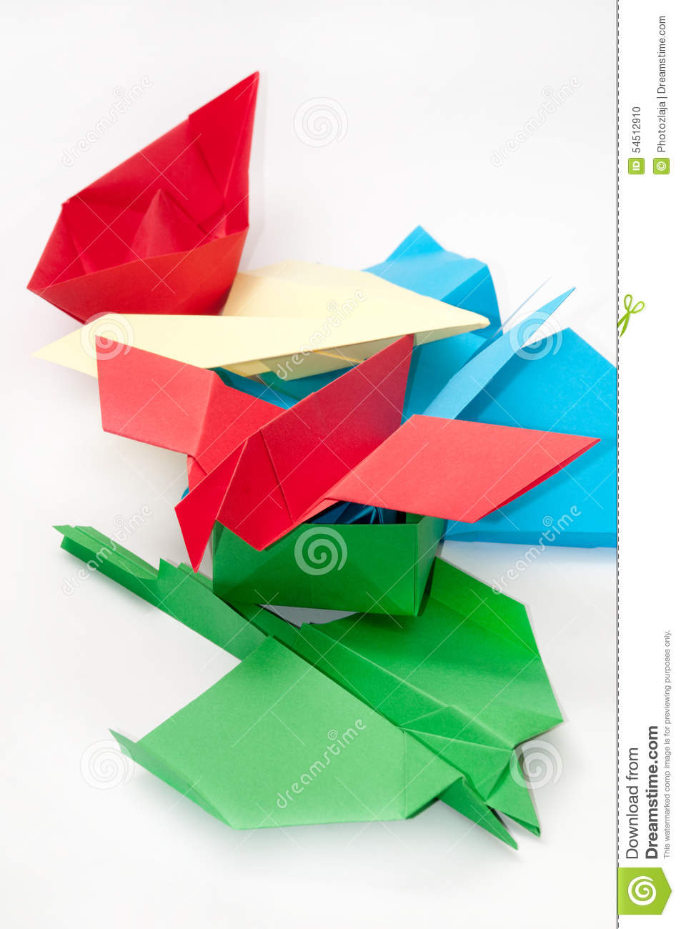 Pile bunch origami objects plane boat stock photo image 54512910 pile bunch origami objects plane boat jeuxipadfo Choice Image