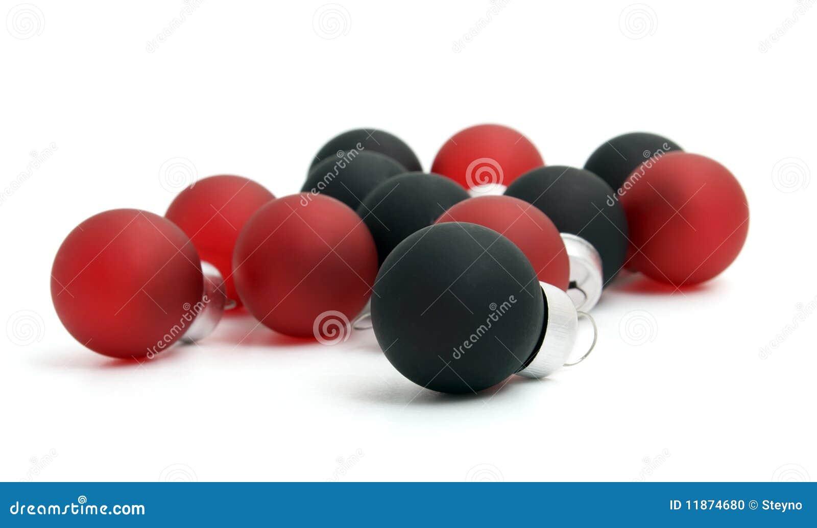 Pile Of Christmas Balls Stock Photo - Image: 11874680