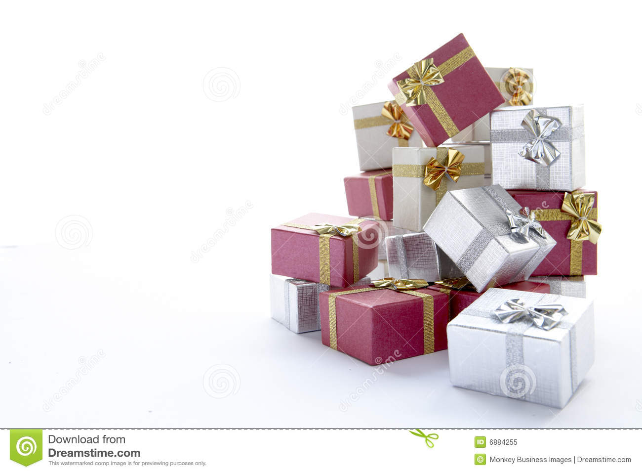 pile of christmas presents royalty free stock photo image 6884255