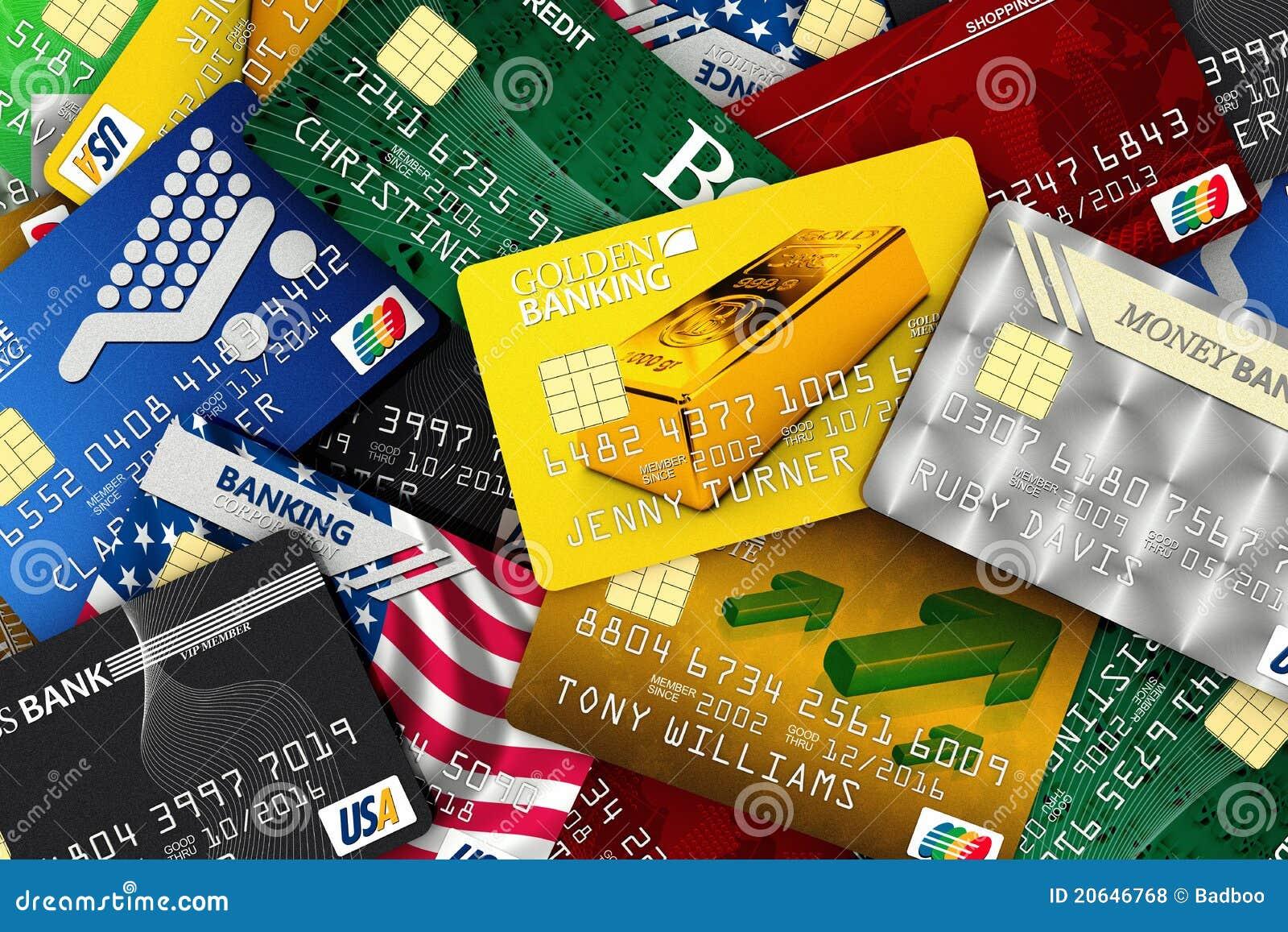pile of credit cards stock illustration  illustration of