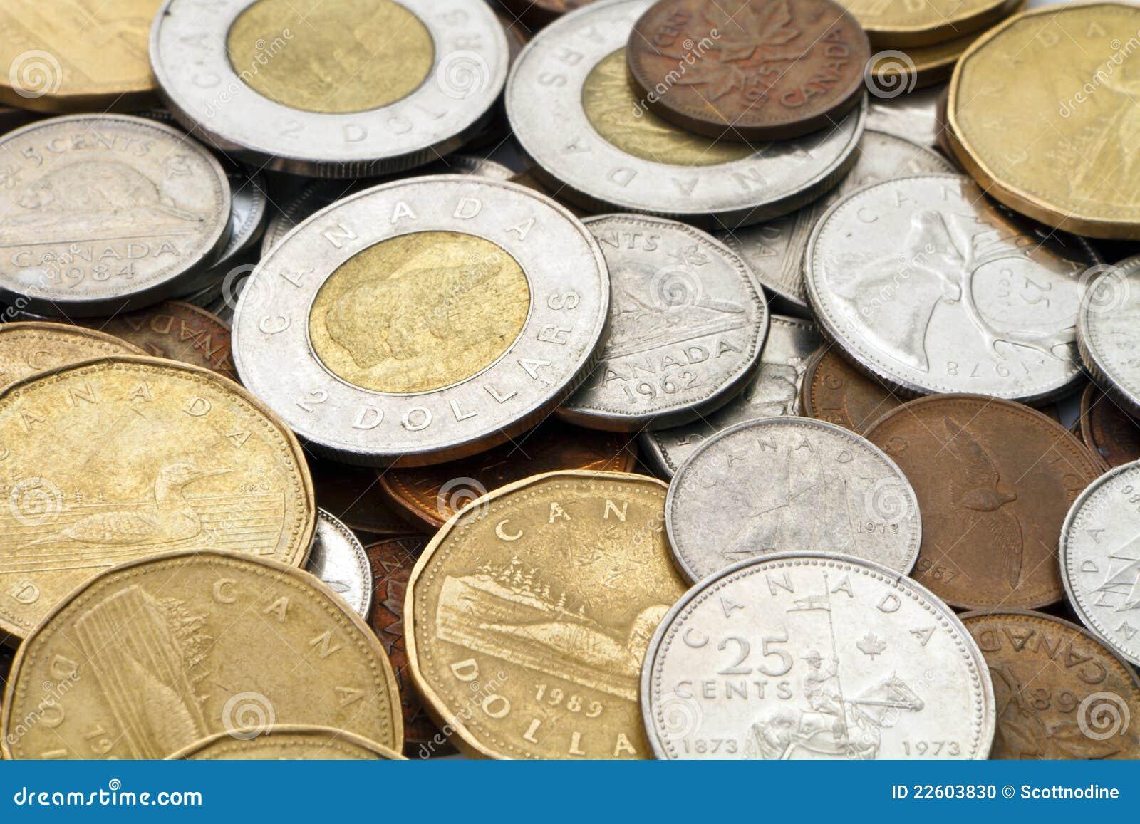 Pile d argent canadien moderne