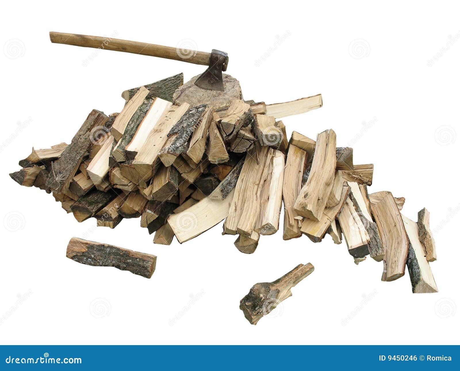 pile de bois de chauffage de hache image libre de droits image 9450246. Black Bedroom Furniture Sets. Home Design Ideas