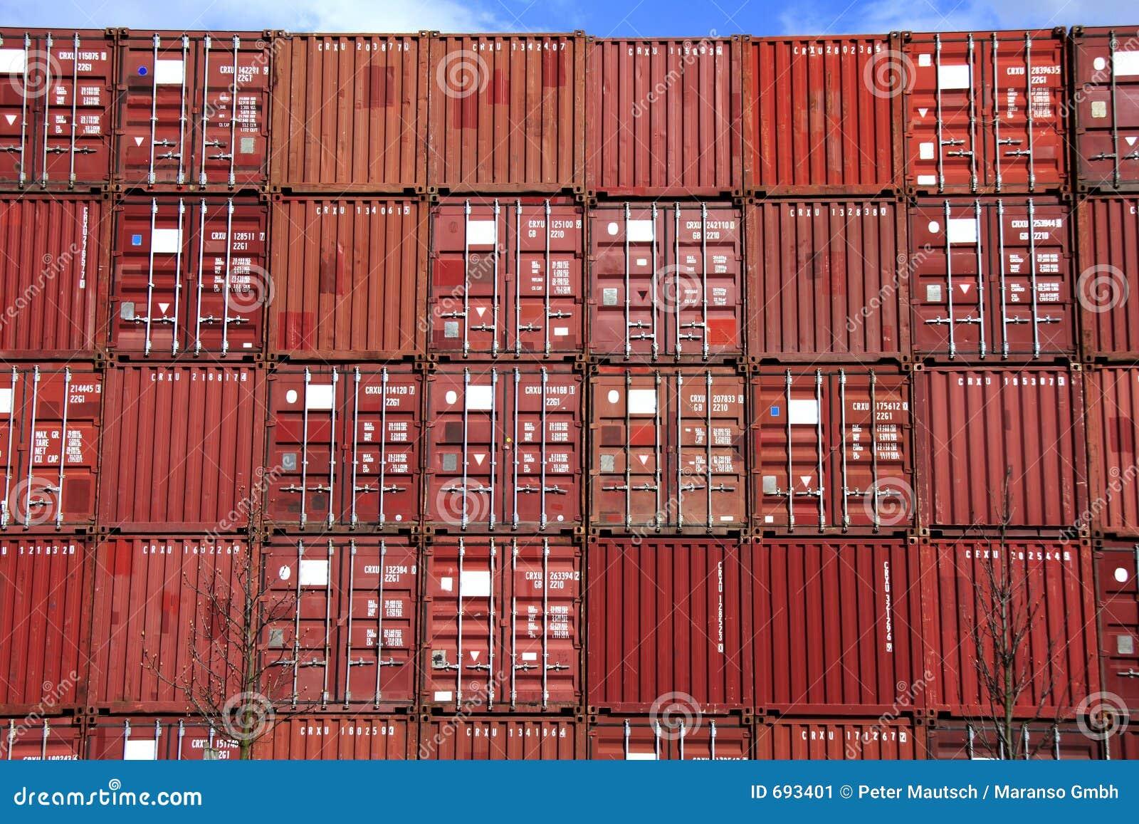 Pile de conteneur