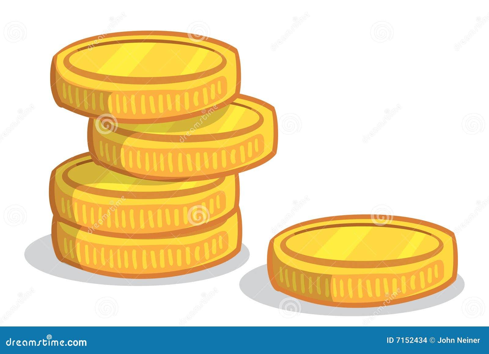 Pile de pi ce de monnaie images stock image 7152434 - Sol en piece de monnaie ...