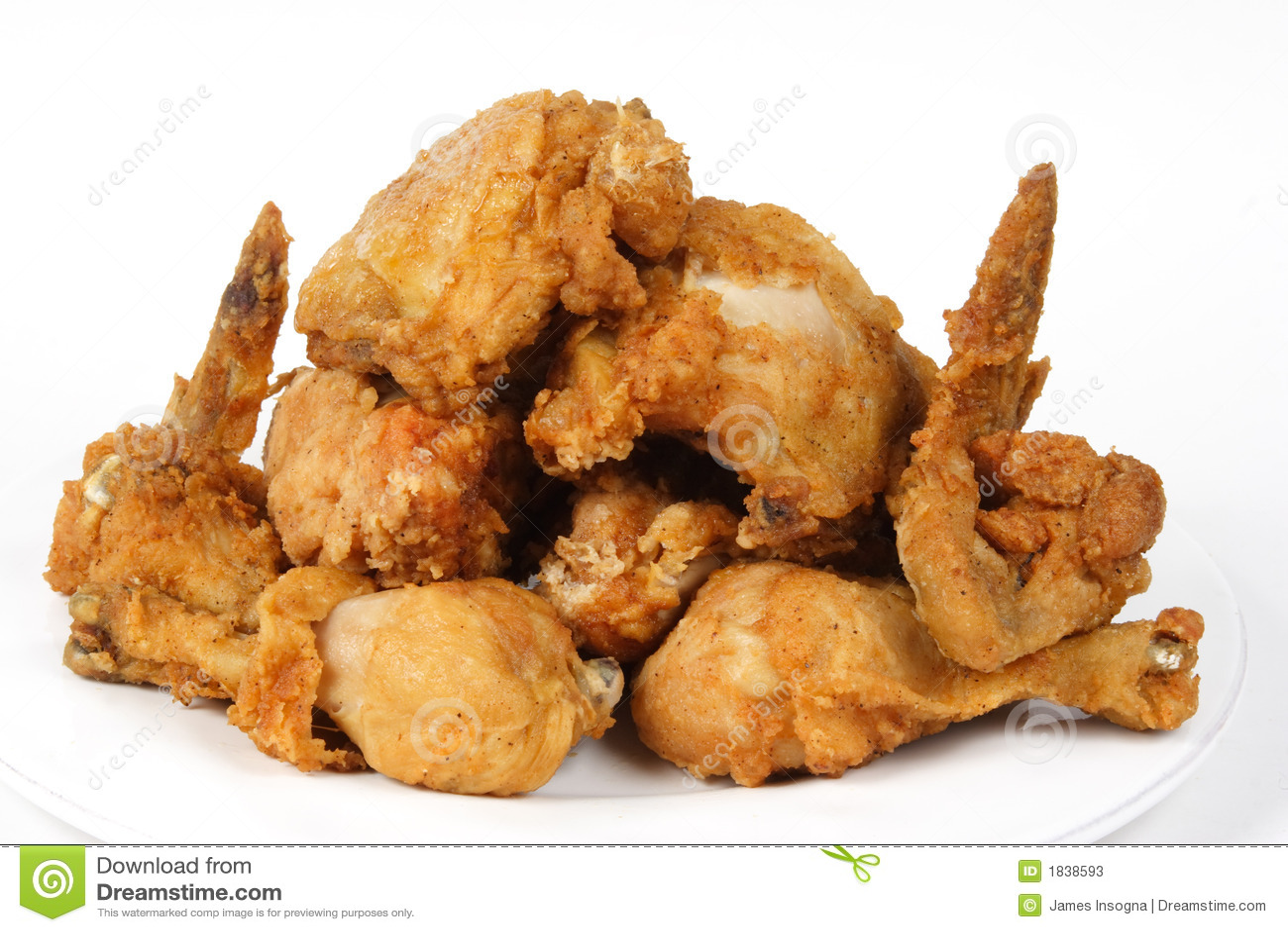 pile de poulet frit brun d 39 or croustillant photos stock image 1838593. Black Bedroom Furniture Sets. Home Design Ideas