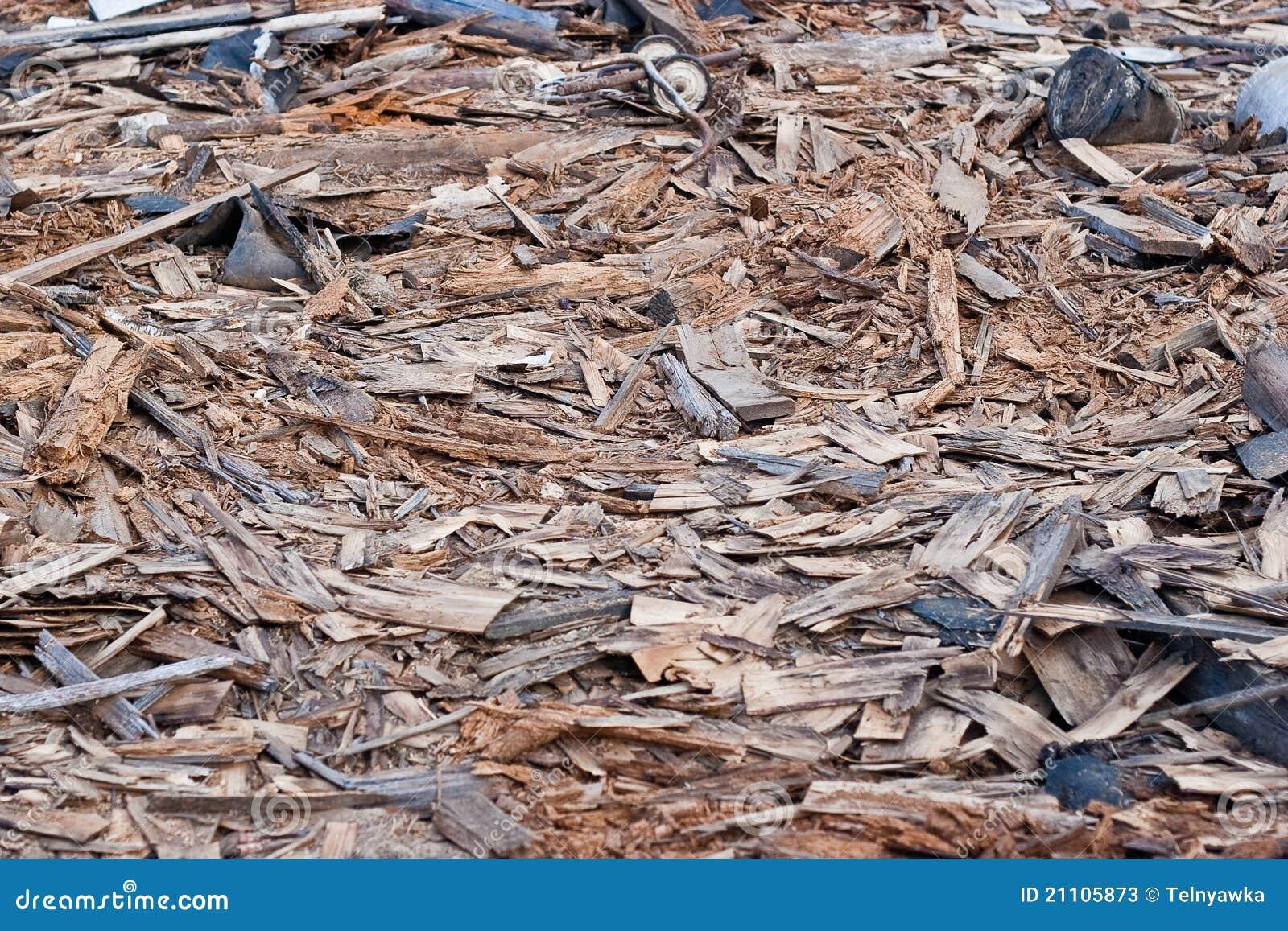 Pile Of Building Debris : A pile of debris stock photos image