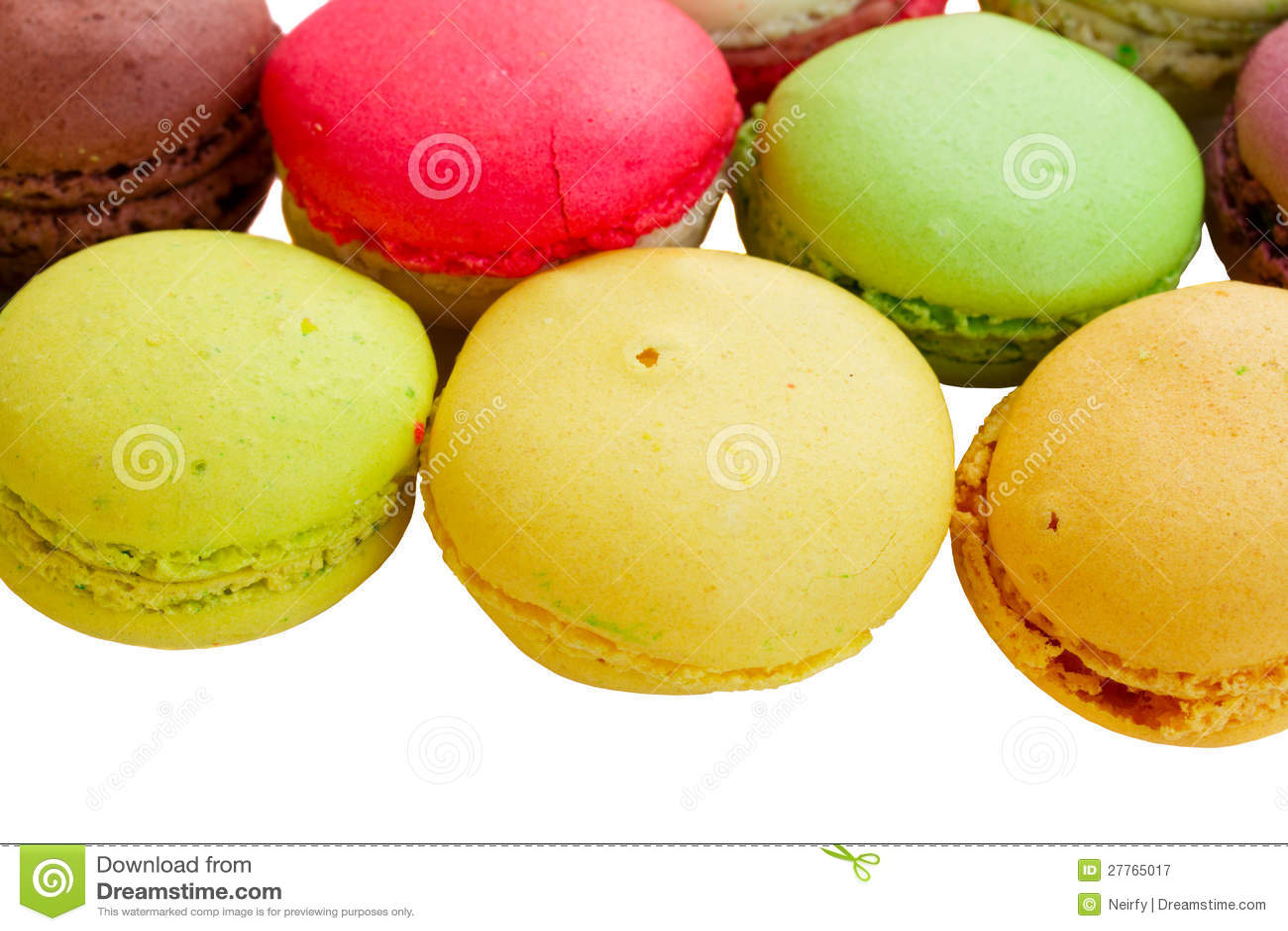 Pile des macarons