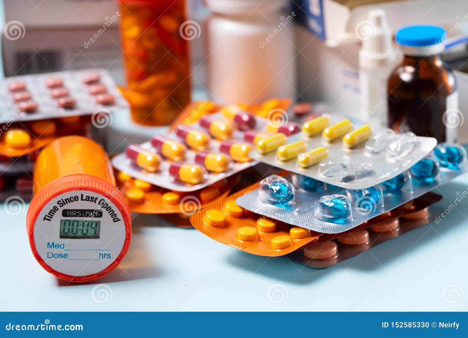 Pile des pilules