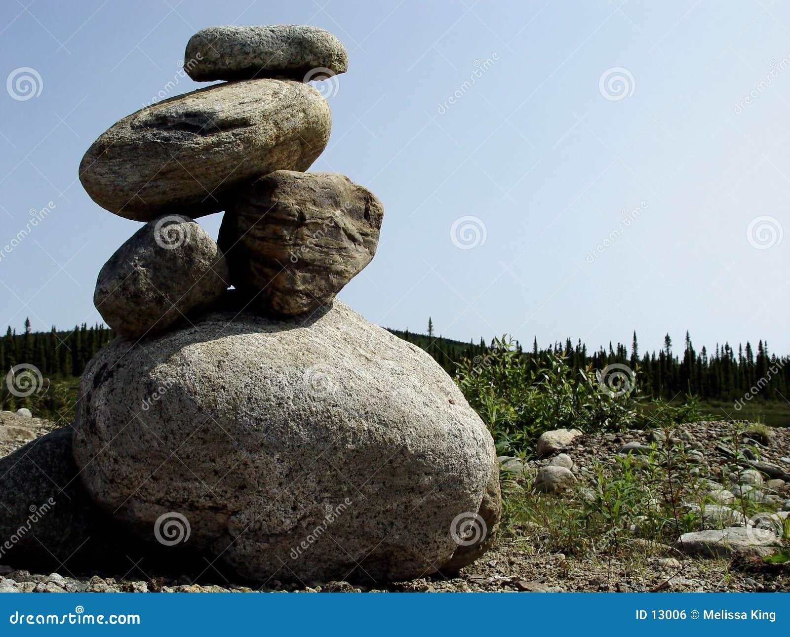 Pile des roches