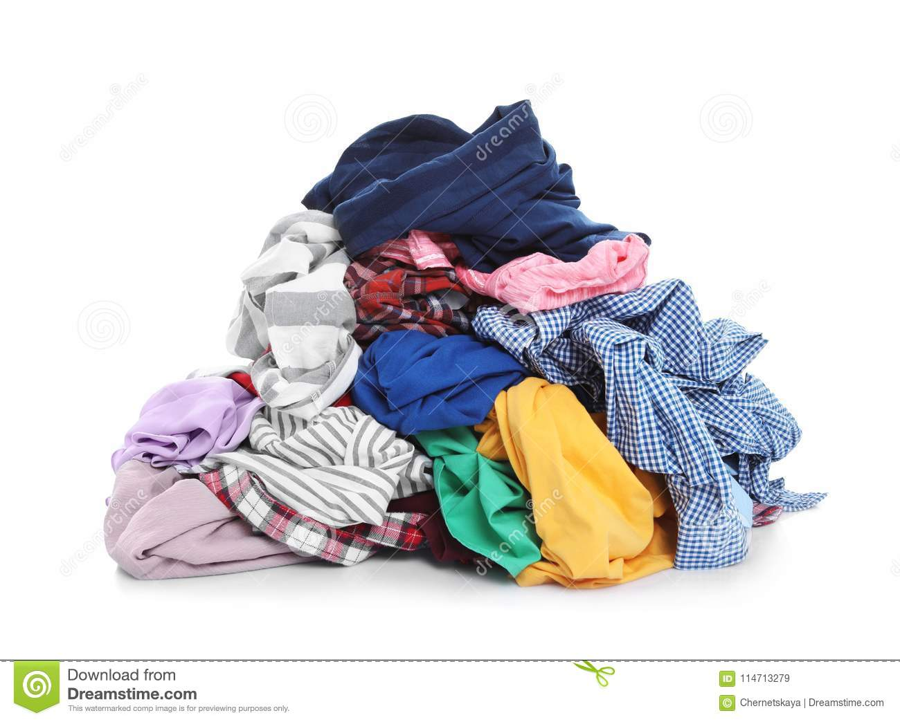 Pile Of Dirty Clothes