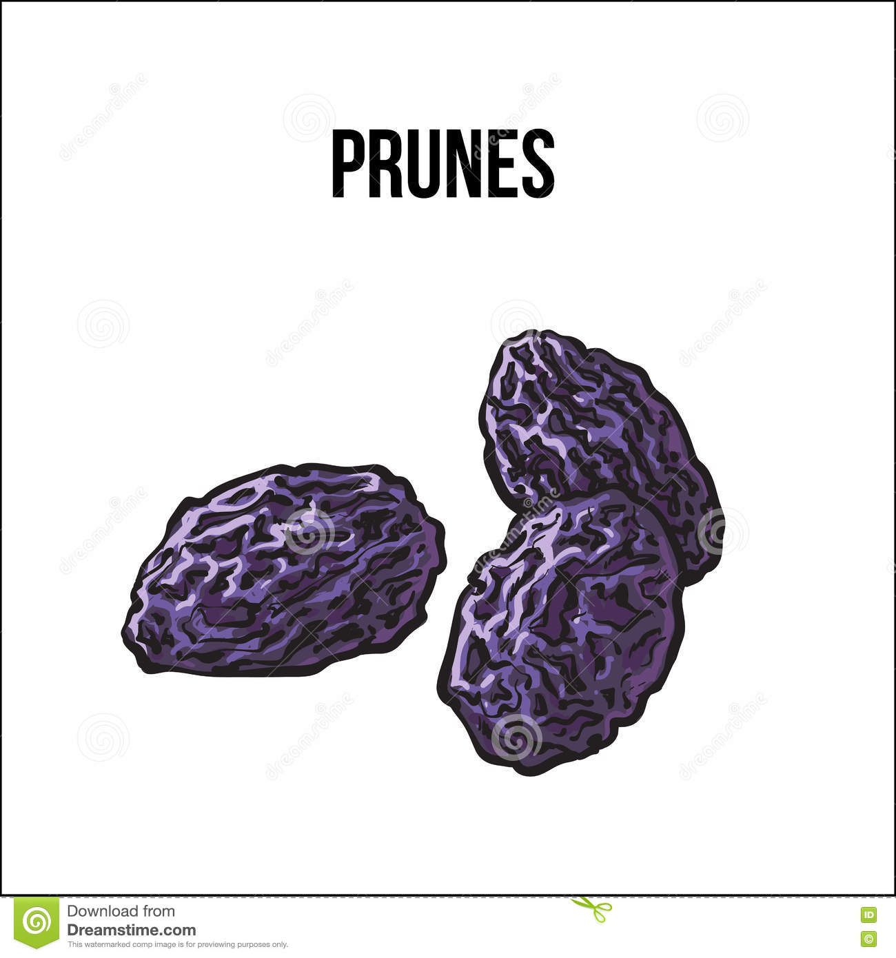 coloring pages prunes - photo#43
