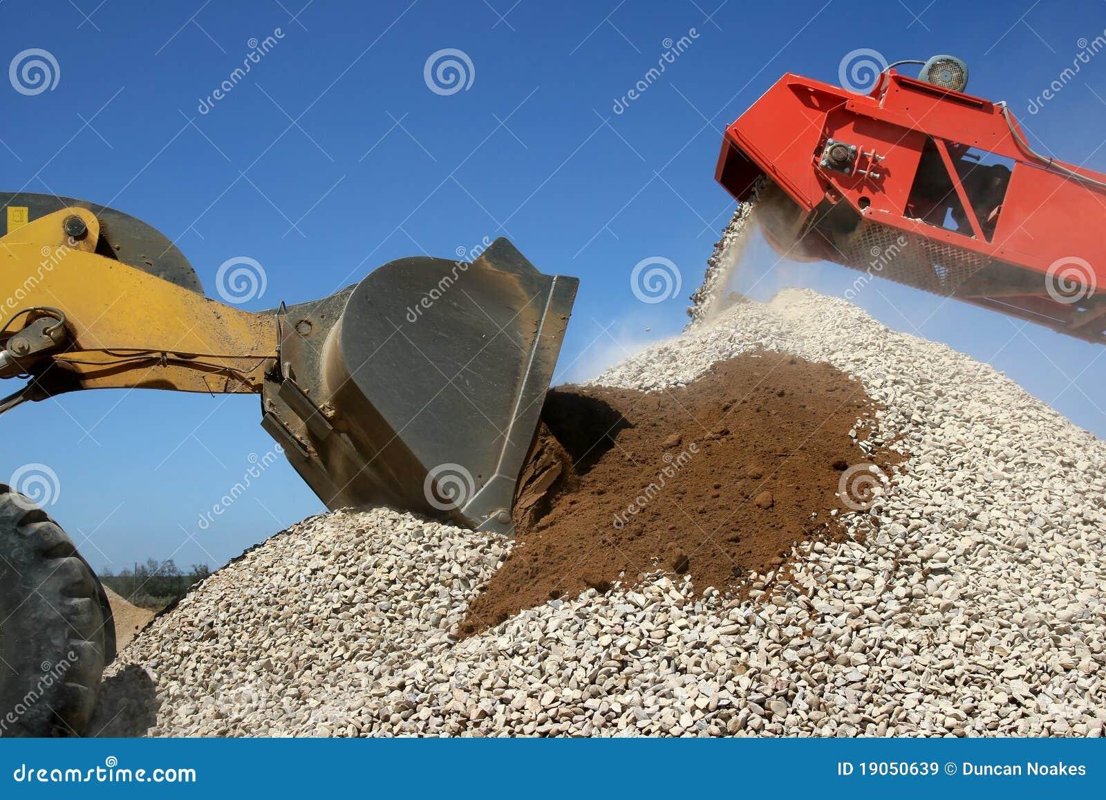 Pile et machines en pierre
