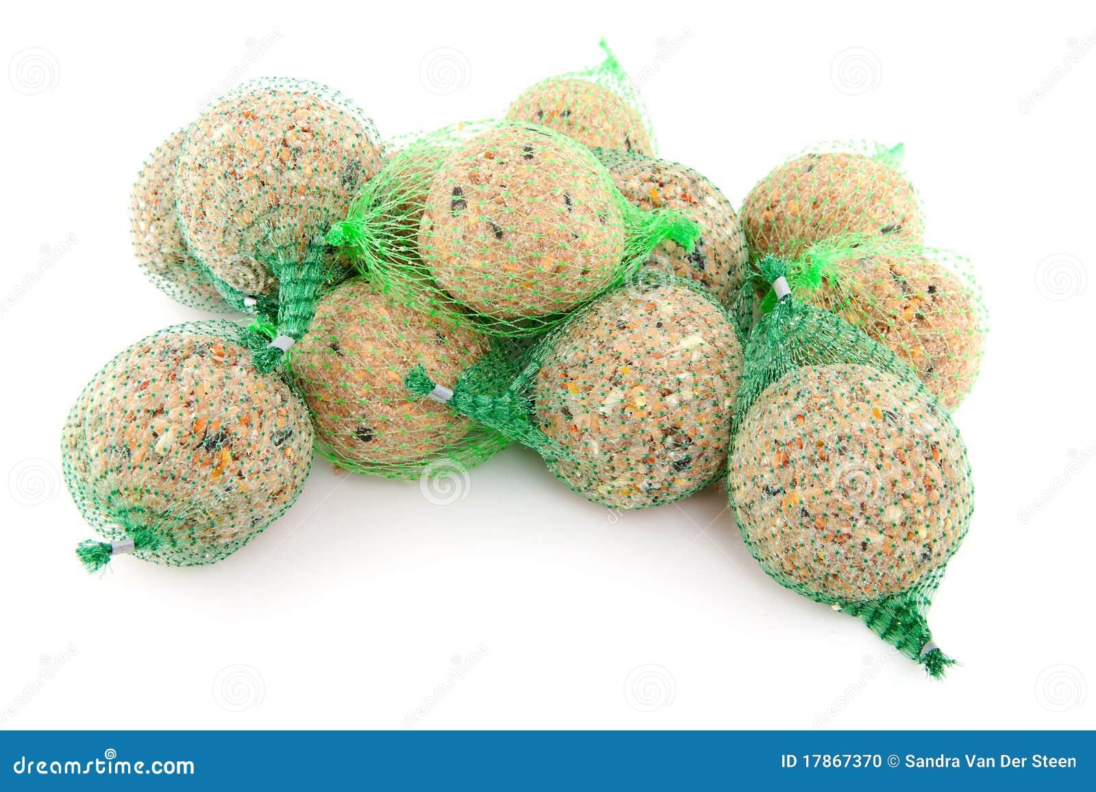 pile of fat balls for birds stock photo image 17867370. Black Bedroom Furniture Sets. Home Design Ideas