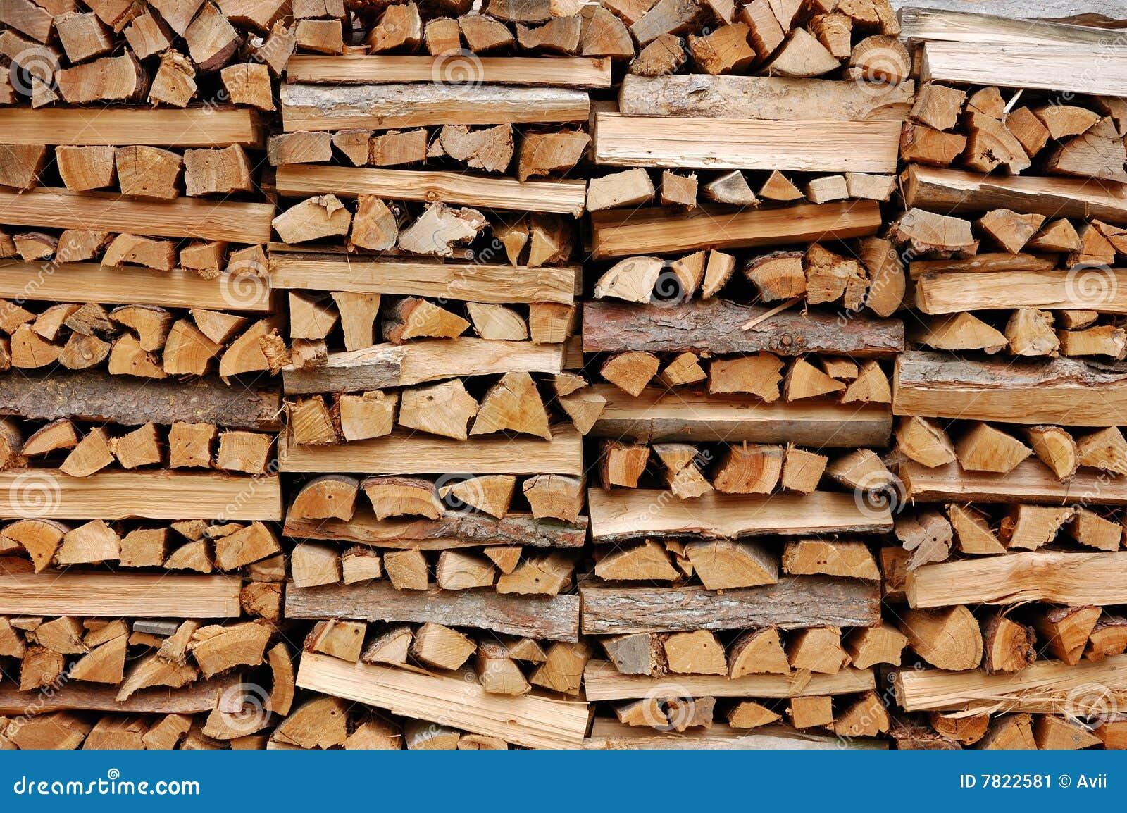 Pile Of Firewood Stock Image Image 7822581