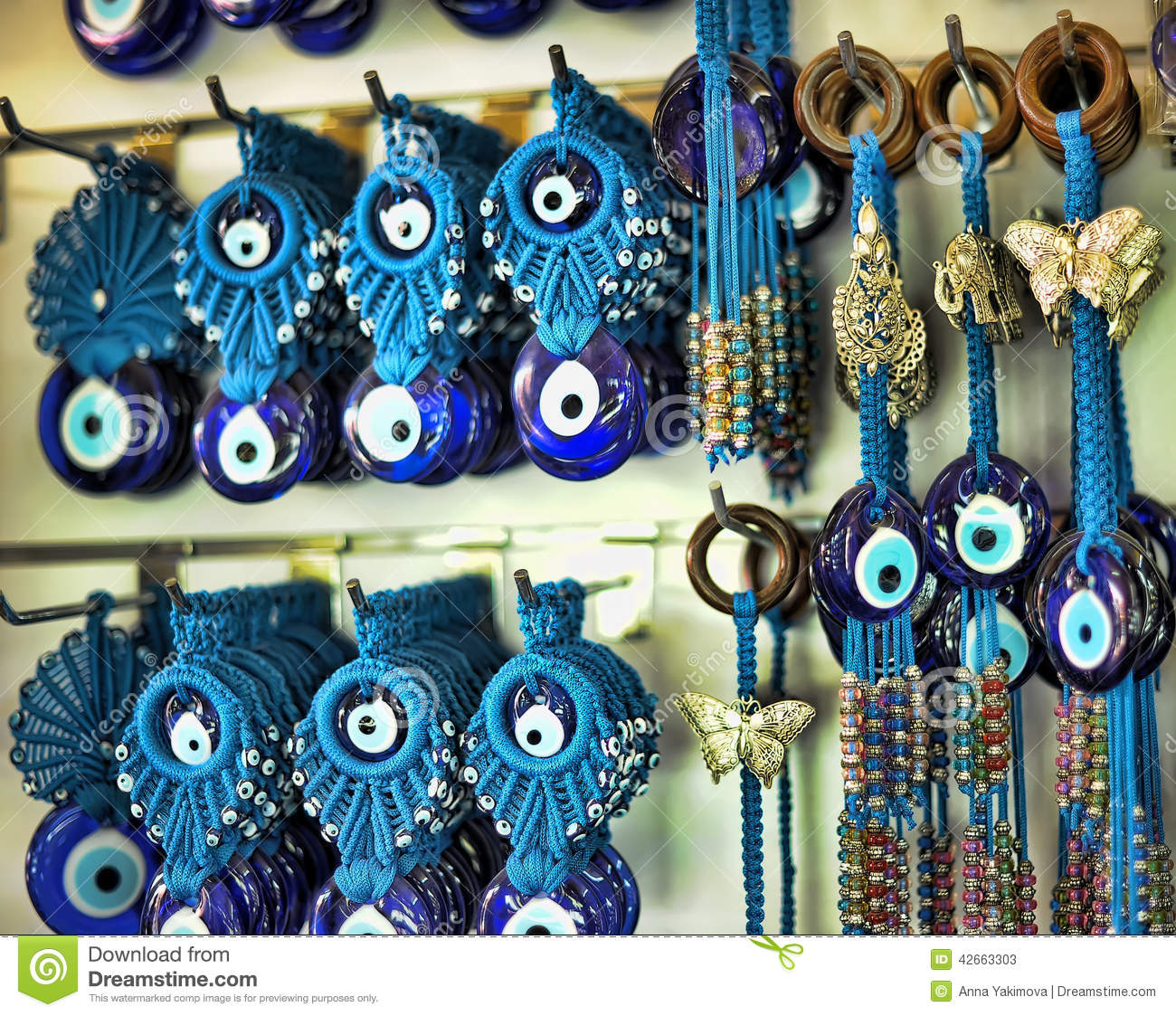 Turkish evil eye stock photos royalty free images a pile of glass evil eye amulet typical turkish souvenirs use to protect against the biocorpaavc