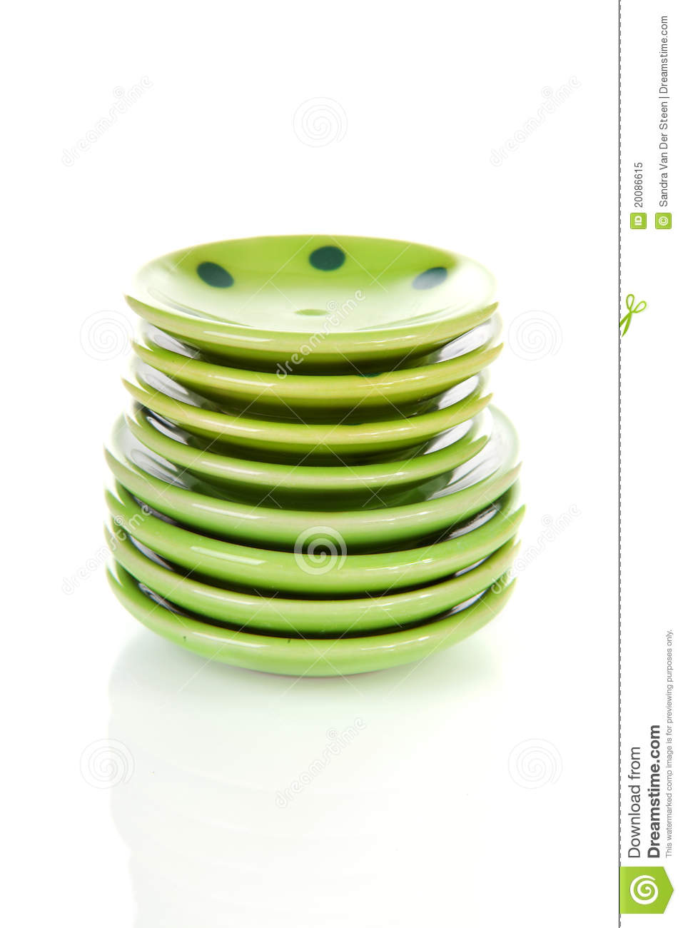 pile of green plates royalty free stock photo image. Black Bedroom Furniture Sets. Home Design Ideas
