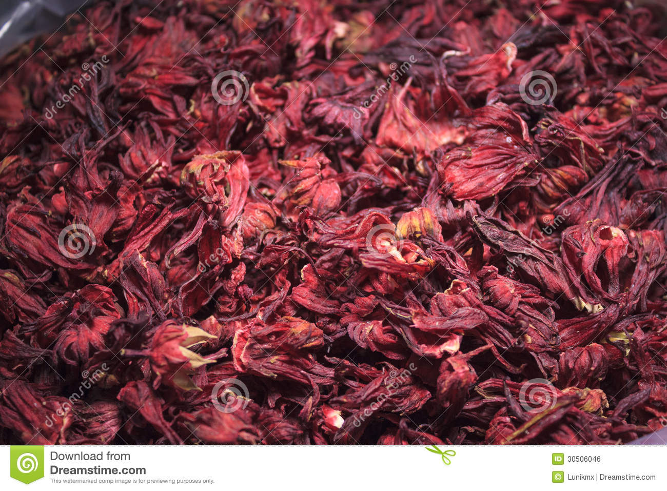 Pile Of Hibiscus Flower Stock Photo Image Of Healthy 30506046