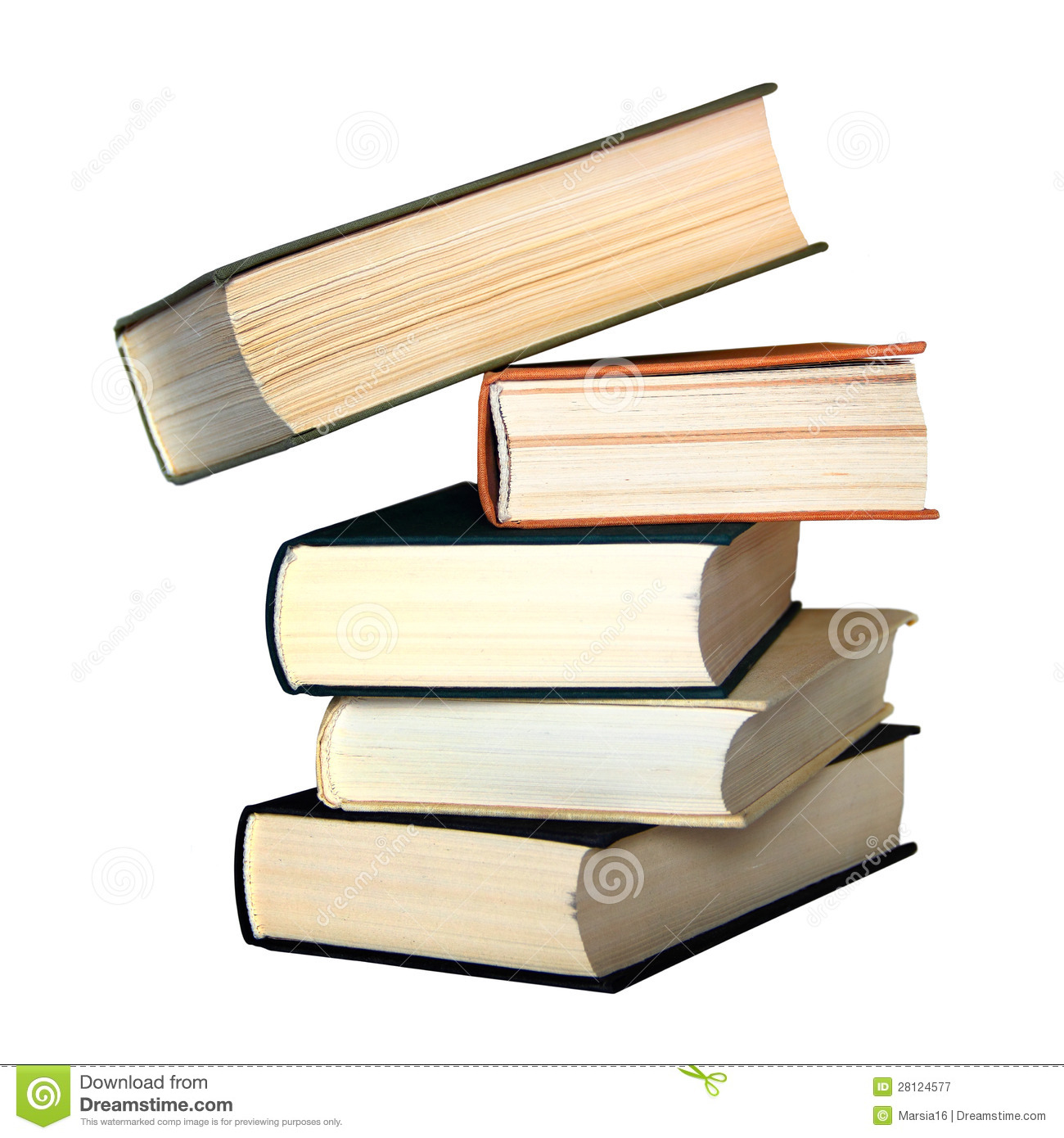 Book Cover Stock Photography ~ Pile of old books stock image imaginative