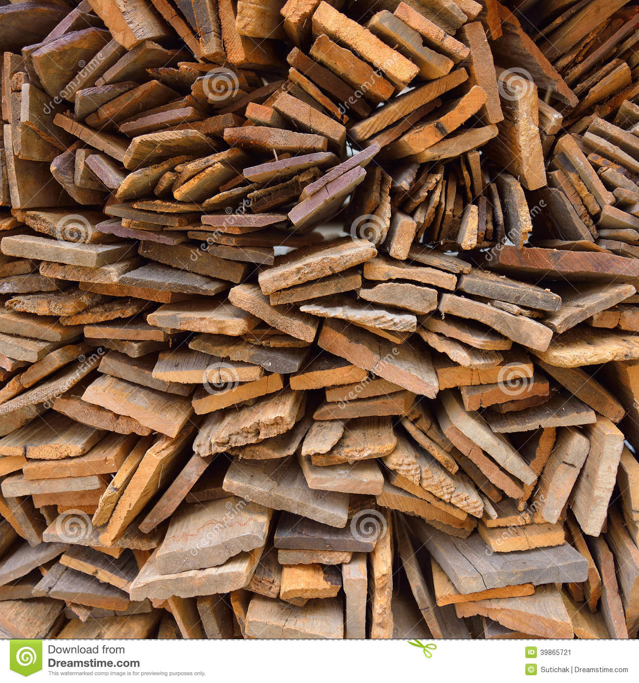 Pile Of Old Wood Plank Stock Photo Image 39865721