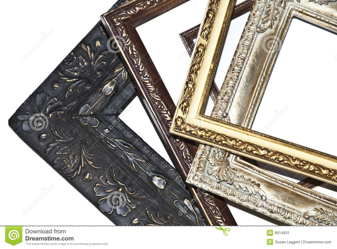 A Pile of Picture Frames