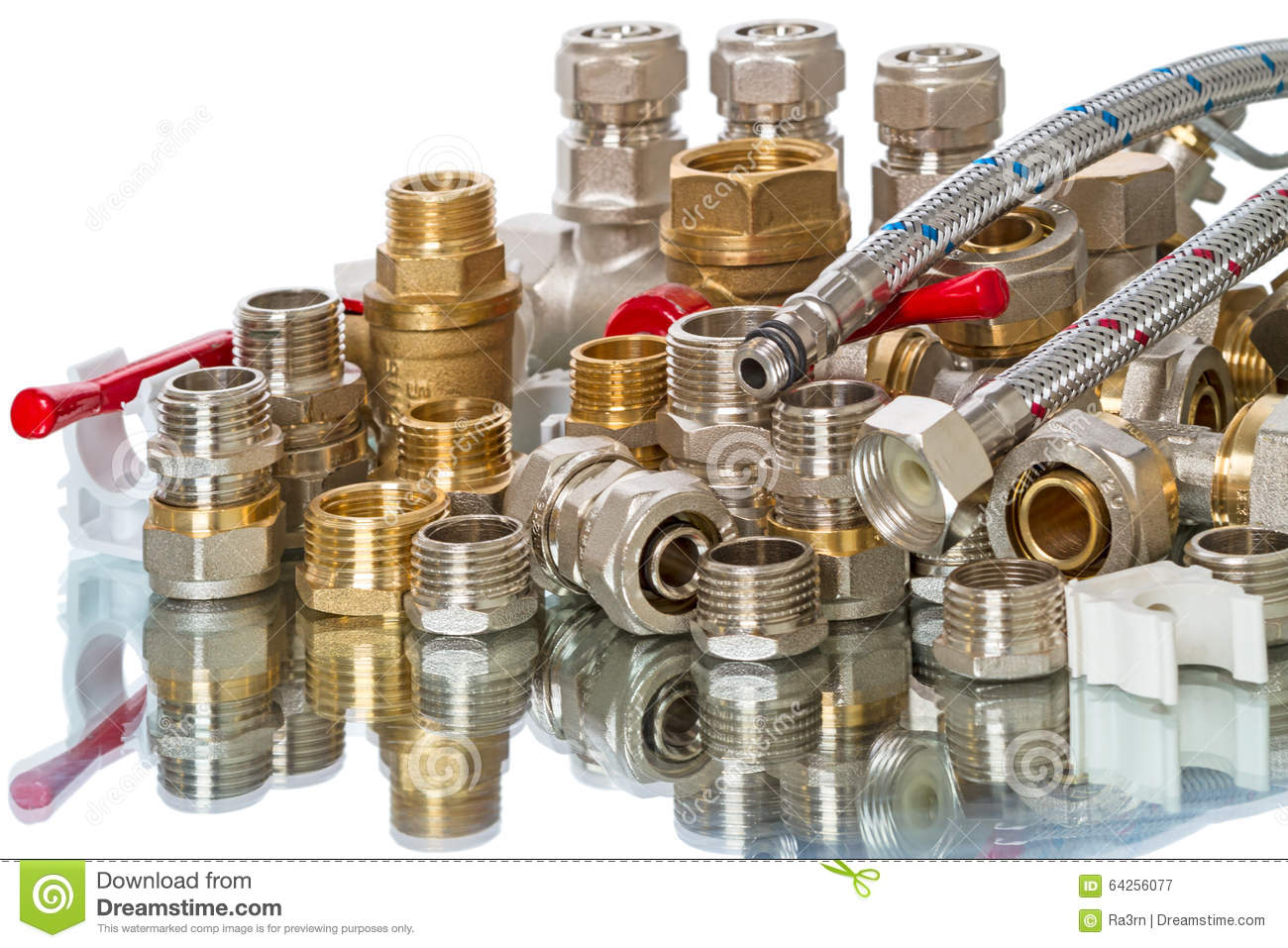 Background Isolated Parts Plumbing