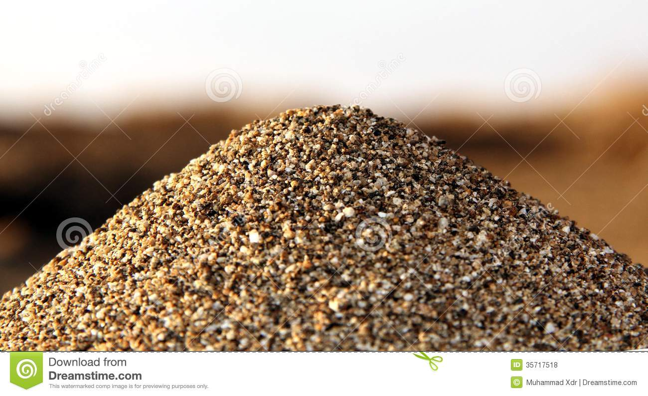 Pile Of Sand Royalty Free Stock Photos - Image: 35717518