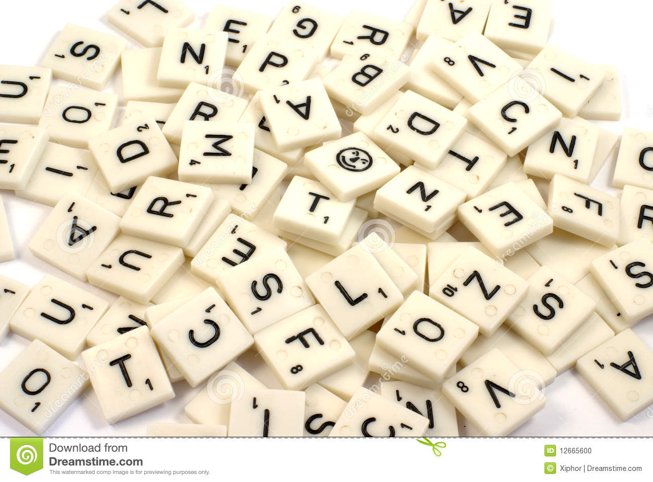 5 letter words ending in el pile of scrabble pieces stock photo image of ideas grid 16262