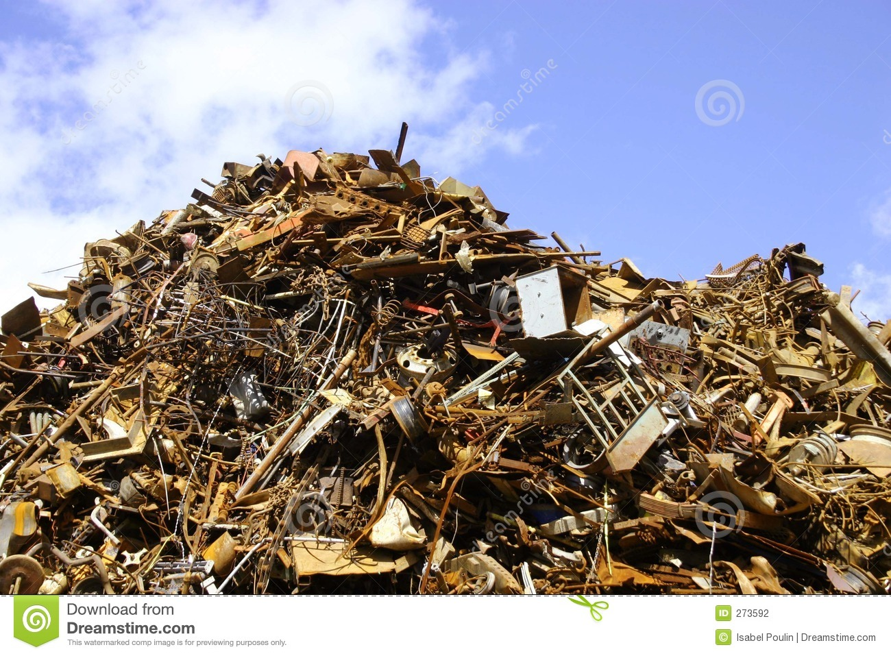 pile of scrap metal stock photo image of recyclable heap 273592. Black Bedroom Furniture Sets. Home Design Ideas