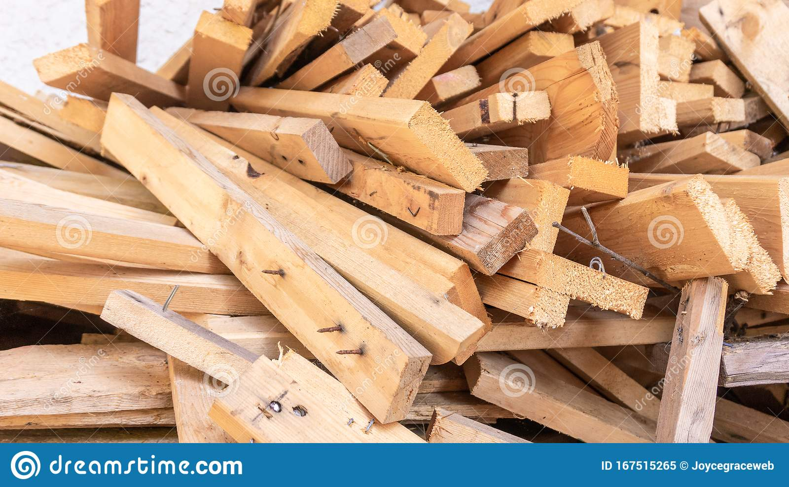 Pile Of Scrap Wood From Mattresses And Palettes For Recycled Up Cycled Diy Furniture Making Or Wood Carpentry Projects Wood Stock Image Image Of Industry Environmental 167515265