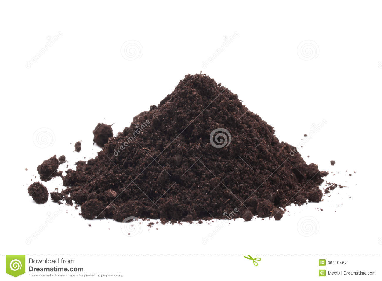 Soil Bag Clipart Pile of soil Royalty Free