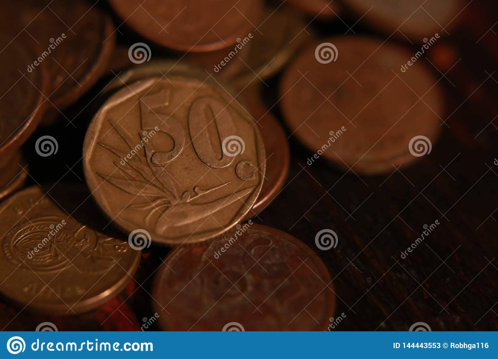 South African coin currency