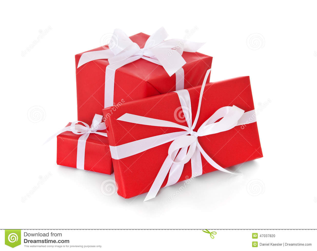 Pile of various red wrapped presents stock photo image of royalty free stock photo negle Choice Image
