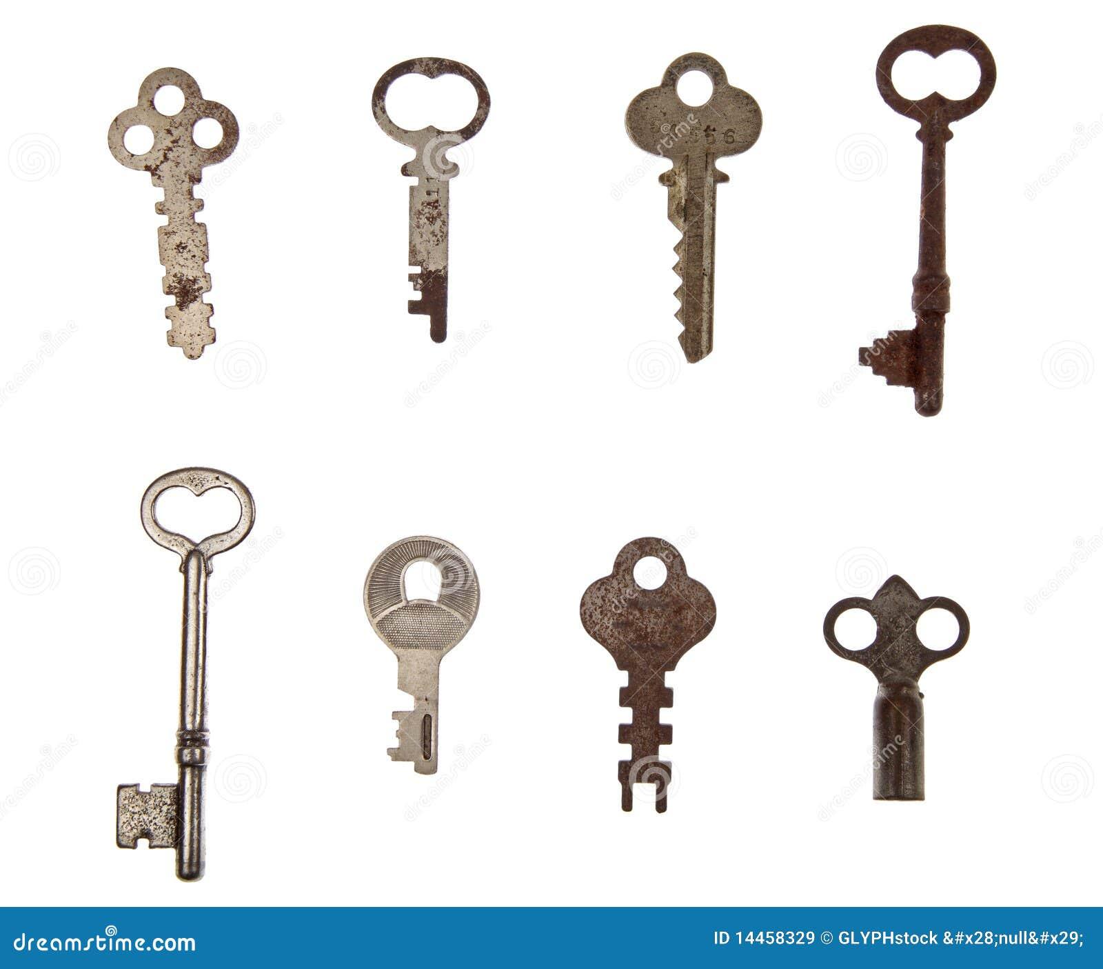 Pile Of Vintage Keys Stock Image Image Of Rusty Turn