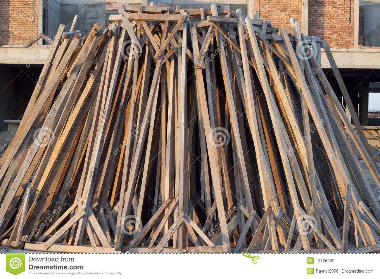 Pile of wood royalty free stock images image