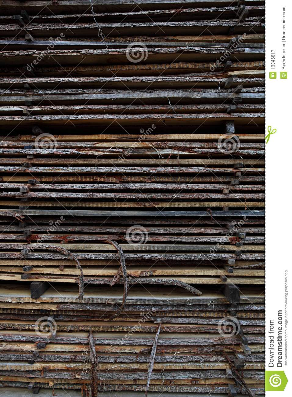 Pile Of Wood Royalty Free Stock Photography Image 13346817