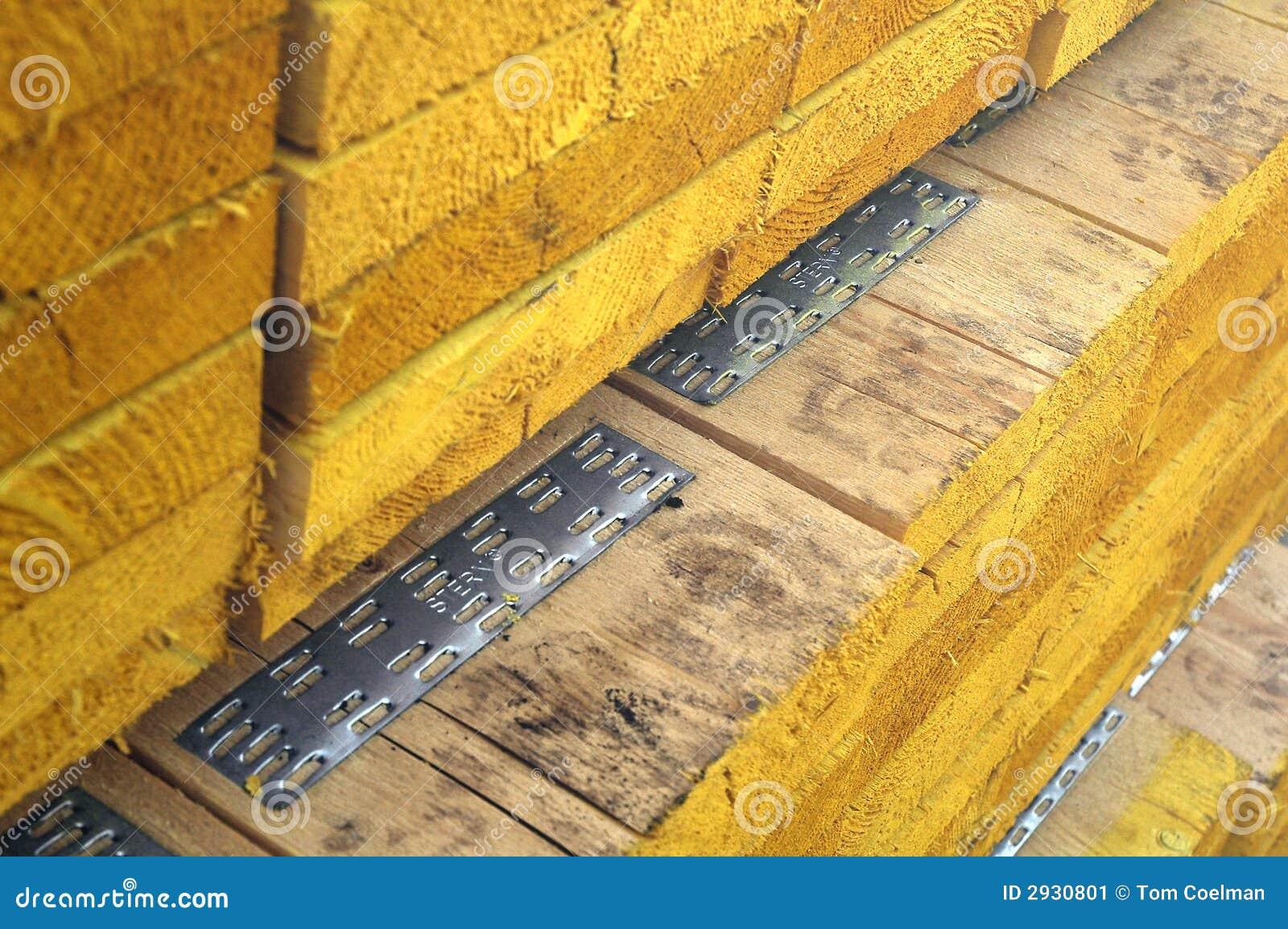 Pile Of Wood Stock Image Image 2930801