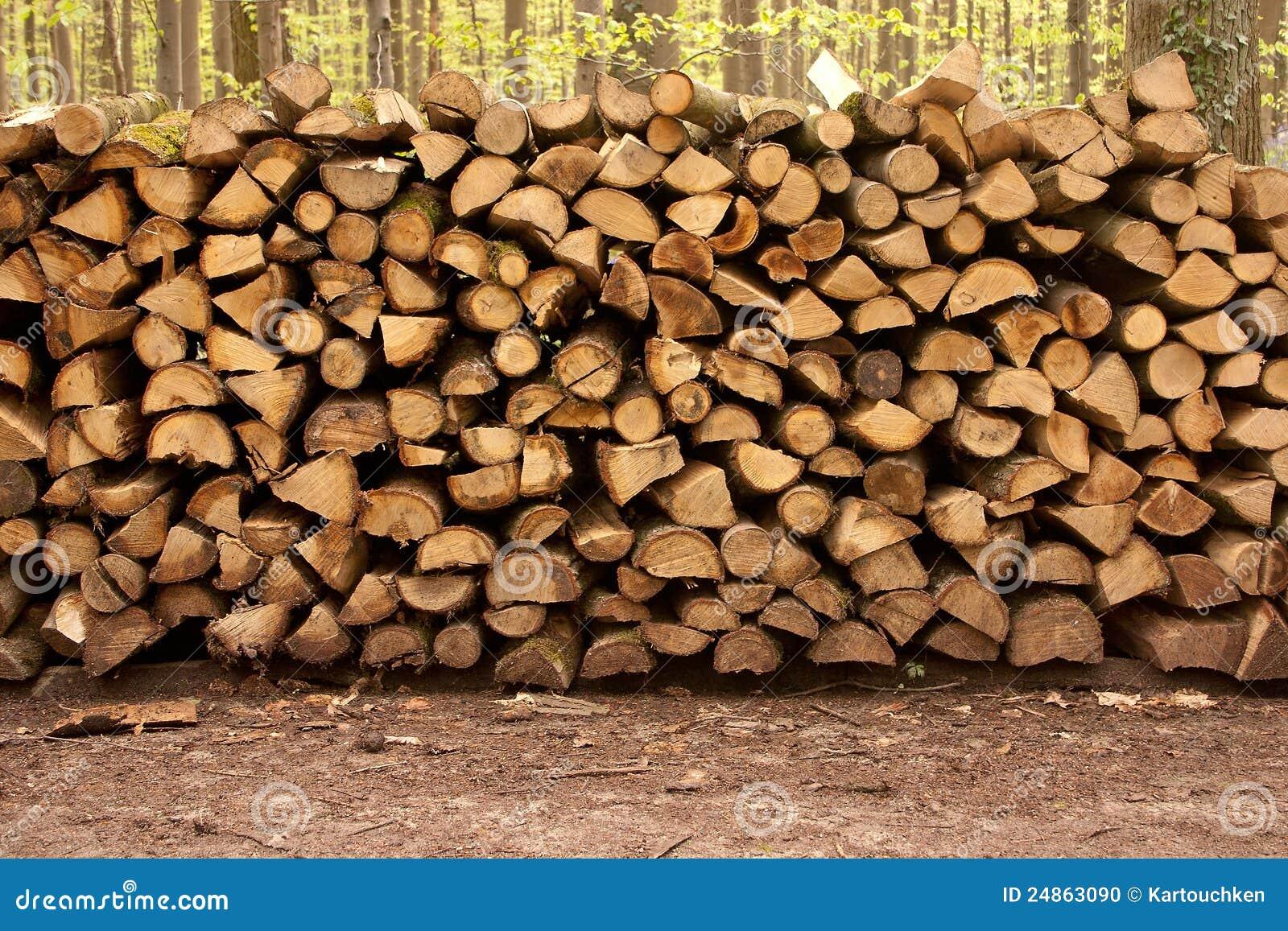 Pile Of Wood 4 Stock Photo Image 24863090