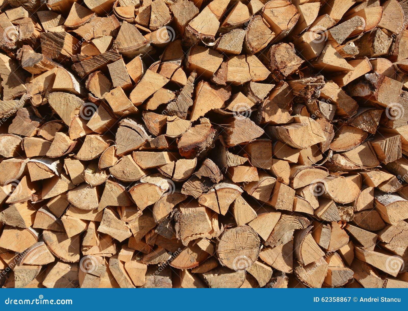 Pile Of Wood Stock Photo Image 62358867